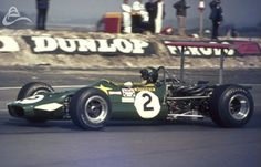 "Jochen Rindt - Lotus 59B Cosworth FVA - Roy Winkelmann Racing - XIV B.A.R.C. ""200"" - Wills Trophy - 1969 European F2 Championship, Round 1"