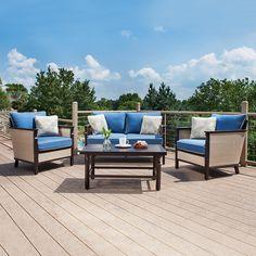 La-Z-Boy Outdoor Cole 4 piece Seating Set