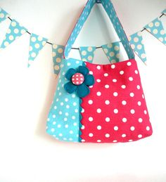 girls purse toddler tote handbag by paulamills