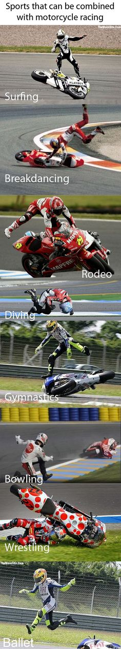 Motorcycle racing plus......