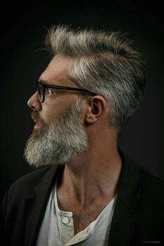 Check out the newest beard styles for 2020 with ideas for short, full, and long beards along with Beard and Company's rated beard oils, balms, and sprays that keep your facial hair soft and healthy. Proudly handmade in the USA with worldwide shipping. Old Man Haircut, Beard Haircut, Grey Beards, Long Beards, Beard Styles For Men, Hair And Beard Styles, Hair Styles, Bart Design, Older Men Haircuts