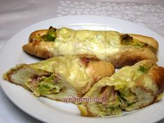 Plněné pečené croissanty • Recept weltinmir.de