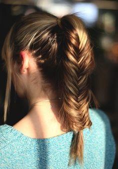 fishtail-braids-ponytail-braid-hair-style-for-everyday