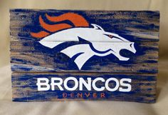 Denver Broncos Sign