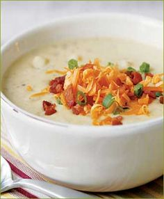 Country Baked Potato Soup | Tasty Kitchen: A Happy Recipe Community!