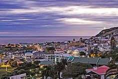 Twilight in Mossel Bay, South Africa