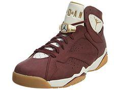 premium selection cb151 66b65 Jordan Nike Mens Air 7 Retro C C Cigar Team Red Metallic .
