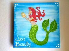 Custom painted canvases - visit my shop on Etsy - Hello Sugar designs!
