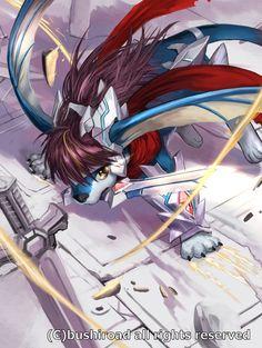 Cardfight!! Vanguard by yosuke225.deviantart.com on @deviantART - Wingal