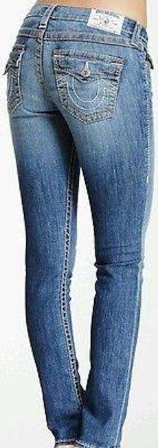 True Religion Skinny Jeans-Medium Wash