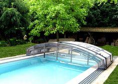 Posuvné bazénové zastřešení typu IMPERIA od Alukovu