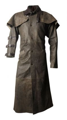 Hellboy Leather Duster Coat