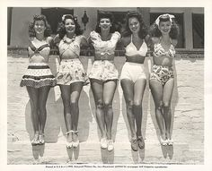 Vintage bathing suits by mavis