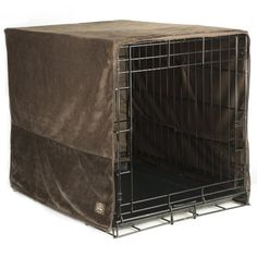 Pet Dreams 36 by 23-Inch Plush Crate Cover, Large, Coco Brown - http://www.thepuppy.org/pet-dreams-36-by-23-inch-plush-crate-cover-large-coco-brown/