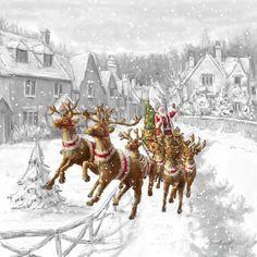 Marcello Corti Christmas Santa Claus Arrived !!!