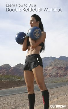 Learn How to do a Double Kettlebell Workout