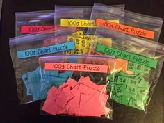 Terri's Teaching Treasures: Hundreds Chart Puzzle Freebie