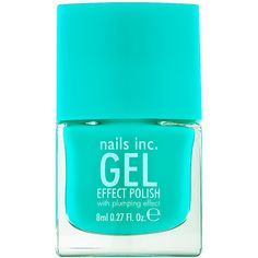 Nails inc Gel Effect Nail Polish, Soho Place 0.27 fl oz (8 ml) (18 CAD) ❤ liked on Polyvore featuring beauty products, nail care, nail polish, nails, makeup, beauty, accessories, gel nail color, gel nail varnish and nail color