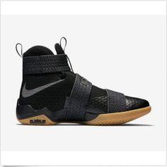 225fd525f Nike Lebron Soldier 10 SFG 844378-009 Black Gum CAVS New Men Size: 7.5-14 # Nike #AthleticSneakers