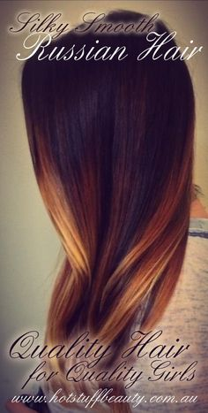 Premium Quality Russian Hair Extensions at Hot Stuff Beauty in Brisbane. $499. www.hotstuffbeauty.com.au