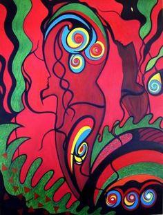A TRANSCENDÊNCIA DO AMOR - Coleção MAUI _ 2008 Obra de Rose Canazzaro faz parte da Collezione MAUI- Itália