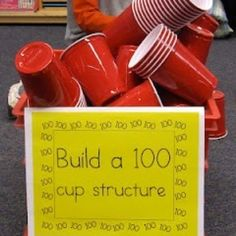 Building centre start with 10 cup...20...30