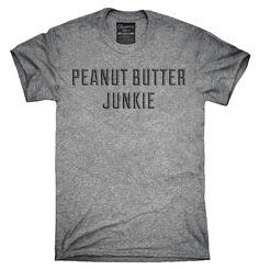 Peanut Butter Junkie Shirt, Hoodies, Tanktops