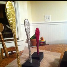 Chili cook-off trophies!