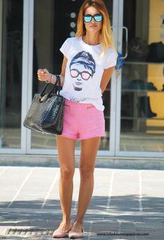 Tee Trend  T Shirts, Hermes  Bags and Zara  Pants