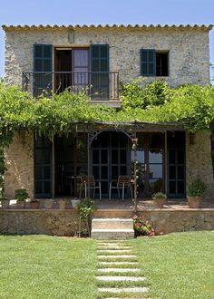 En Mallorca, rústico señorial - | La casa de mis sueños | Pinterest | Spain, House and Html