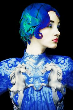 Mary Katrantzou Art Fashion - Photog: Erik Madigan Heck : The Surrealist Fashion Ideal