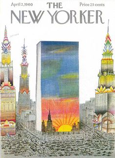 Capa New Yorker (1960) - Saul Steinberg