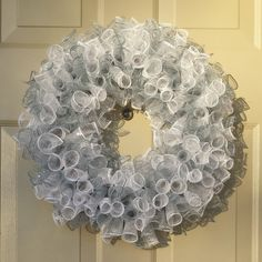 Check out this item in my Etsy shop https://www.etsy.com/listing/486408278/14-mesh-deco-wreath