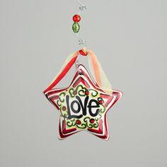 Glory Haus - Love Puff Star Ornament