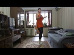 Dancing-Butts: Natalia tanzt in Booties und Leggings (dancing in ankle b...