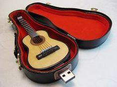 Guitar flash drive...