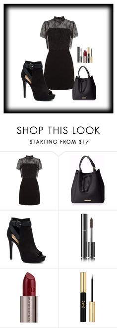 """""""1"""" by mary-reynoso on Polyvore featuring moda, Sandro, Apt. 9, Chanel, Urban Decay y Yves Saint Laurent"""