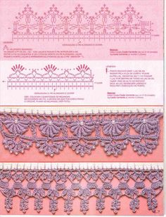 crochet lace edging patterns