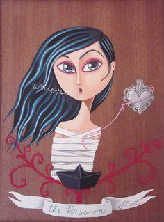 The Passion - acrilic on wood - 2011