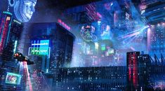 2158 Best Cyberpunk city images in 2019 | Science fiction
