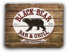 Black Bear Bar & Grill (Hoboken, NJ) - Great place to visit on Washington St. Hoboken Restaurants, Hoboken Bars, Bar Grill, Black Bear, Restaurant Bar, Great Places, Art Work, Bears, Grilling