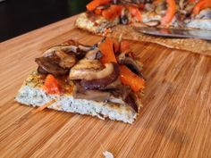 Gluten Free AND Dairy Free Pizza Crust Recipe from Healthy Eating and Living