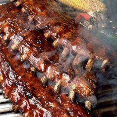 Listing of the answers to the question: How do you make perfect BBQ ribs? Been thinking of BBQ ribs for the past several weeks. Any tips or tricks to make BBQ ribs perfect? Rib Recipes, Grilling Recipes, Cooking Recipes, Smoker Recipes, Barbecue Recipes, Grilling Ideas, Tailgating Recipes, Cooking Ribs, Recipies