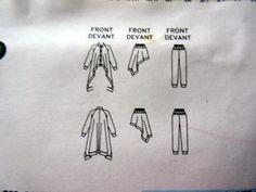 EASY-Issey-Miyake-Vogue-Sewing-Pattern-2138-PANTS-JACKET-SKIRT-TOP-14-18-Uncut