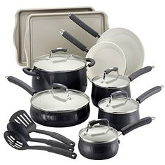 Savannah Collection 17-piece Aluminum Cookware/ Bakeware Set ** Find out more about the great product at the image link.