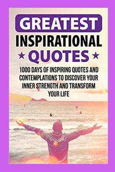 Amazing books of the greatest inspirational quotes are full of motivational quotes and strength quotes to successfully change your life. Gratitude quotes can help you live life to the fullest more so than even the best insightful quotes can. Great Inspirational Quotes, Motivational Quotes For Success, Wise Quotes, Amazing Books, Good Books, The Help Book, Insightful Quotes, Gratitude Quotes, Transform Your Life
