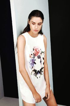Finders Keepers | Evil Friends Dress | Ring of Roses Print/ White | FSHN BNKR | Shop Now |