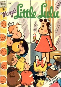 Little Lulu #24  Published June 1950 by Dell/Gold Key
