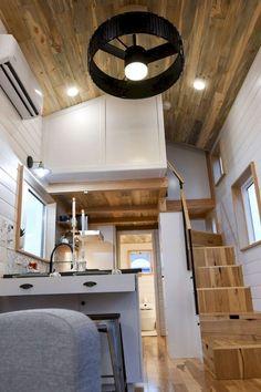 Amazing Loft Stair for Tiny House Ideas (8)