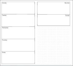Planner Fun - free inserts, links, hacks & fun: Reader Request: Week on 2 Pages for MTN [printable]